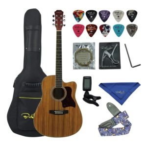Contents of the Bailando Spruce Dreadnought Bundle