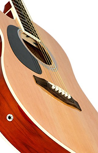 A different view of the Left Handed Natural Jameson Thinline AEG