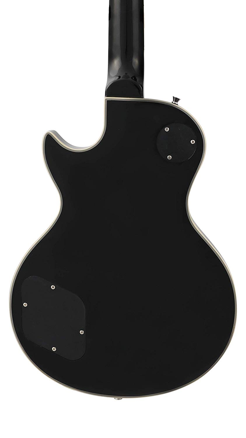 Rear View of Leo Jaymz Single Cut Curved Top Electric Guitar
