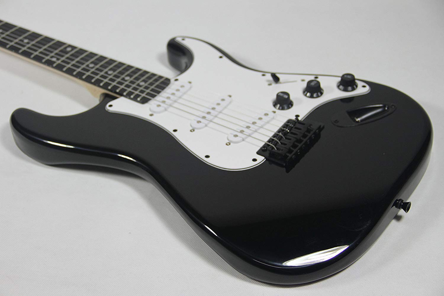 Showing just the Black LyxPro Electric Guitar