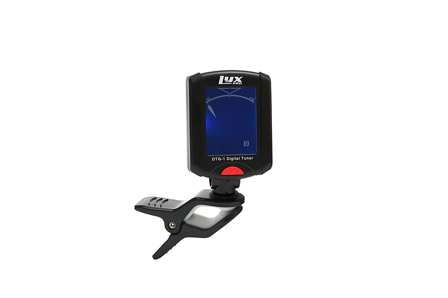 Tuner for the Black LyxPro Electric Guitar