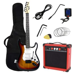 Showing all the contents of the Sunburst LyxPro Electric Guitar