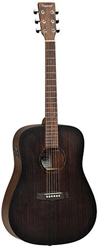 Front view of the Tanglewood Crossroads Dreadnought AEG