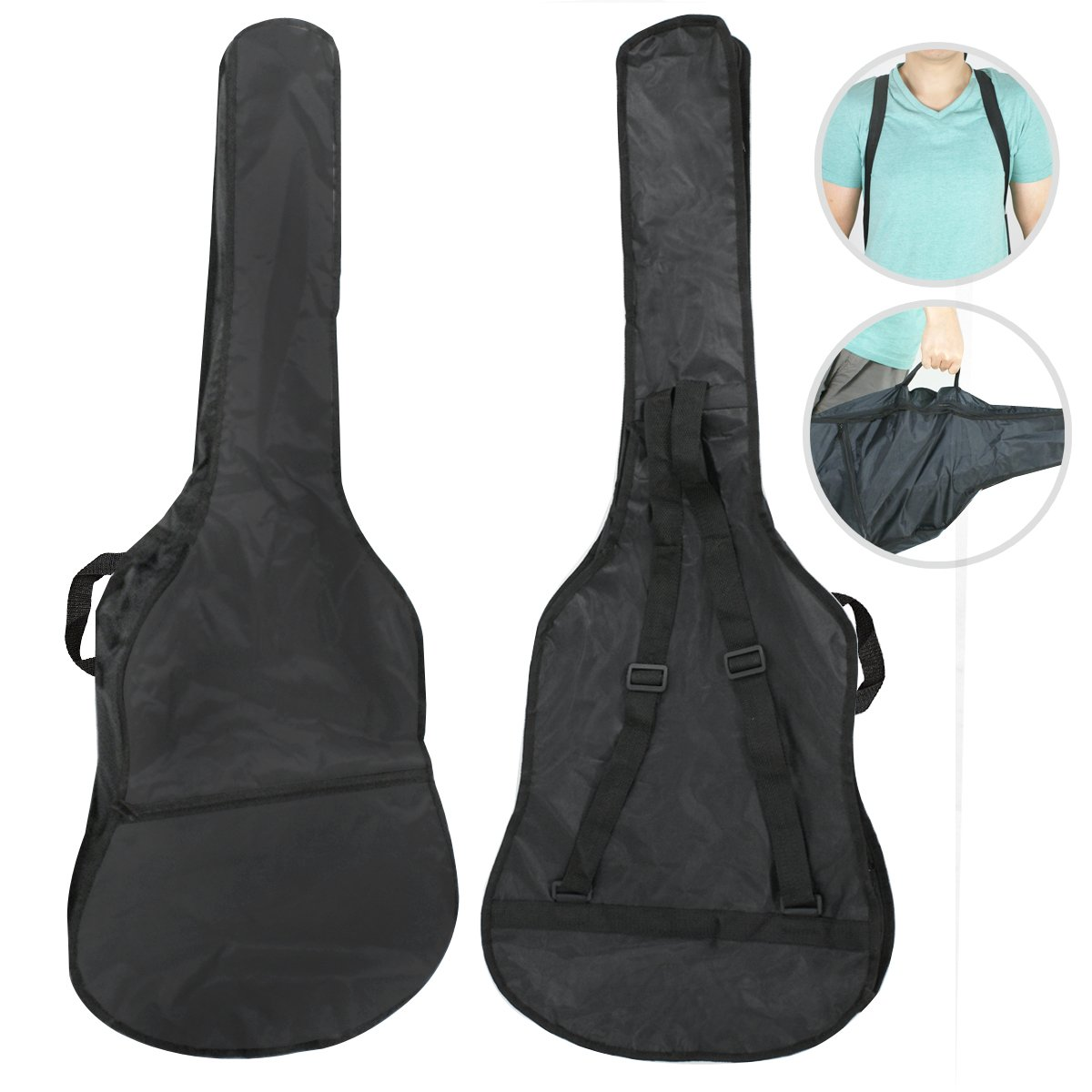 Guitar bag for the Black ZENY Electric Guitar