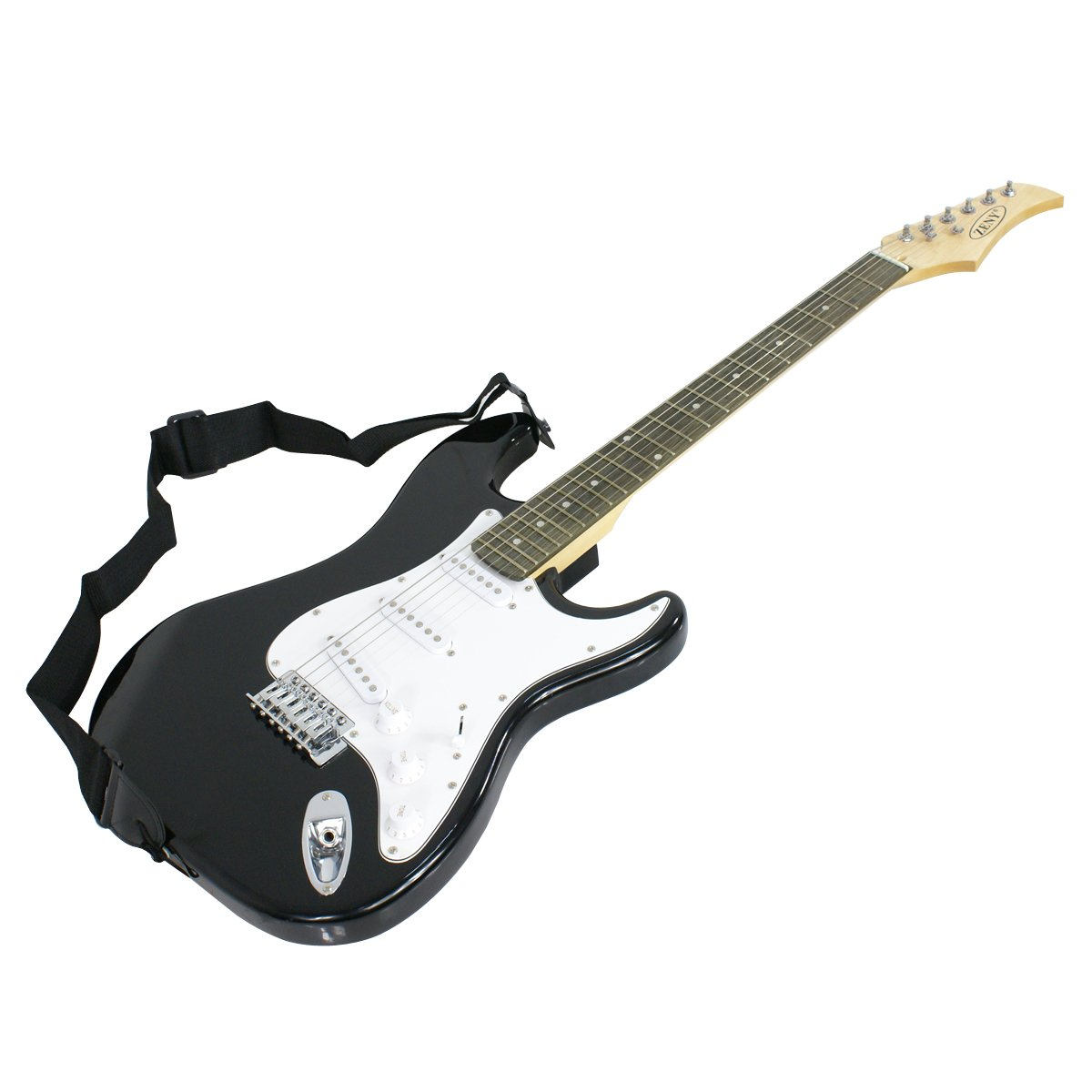 Just the Black ZENY Electric Guitar