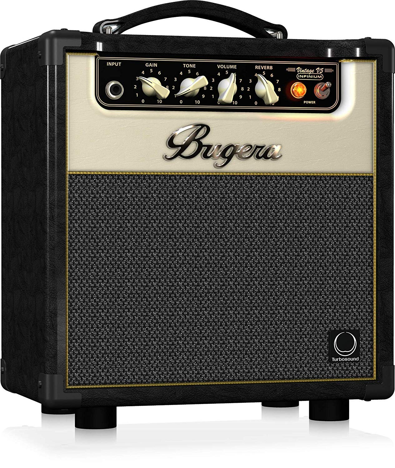 Front View of the Bugera V5 Infinium Class A Tube Amplifier Package