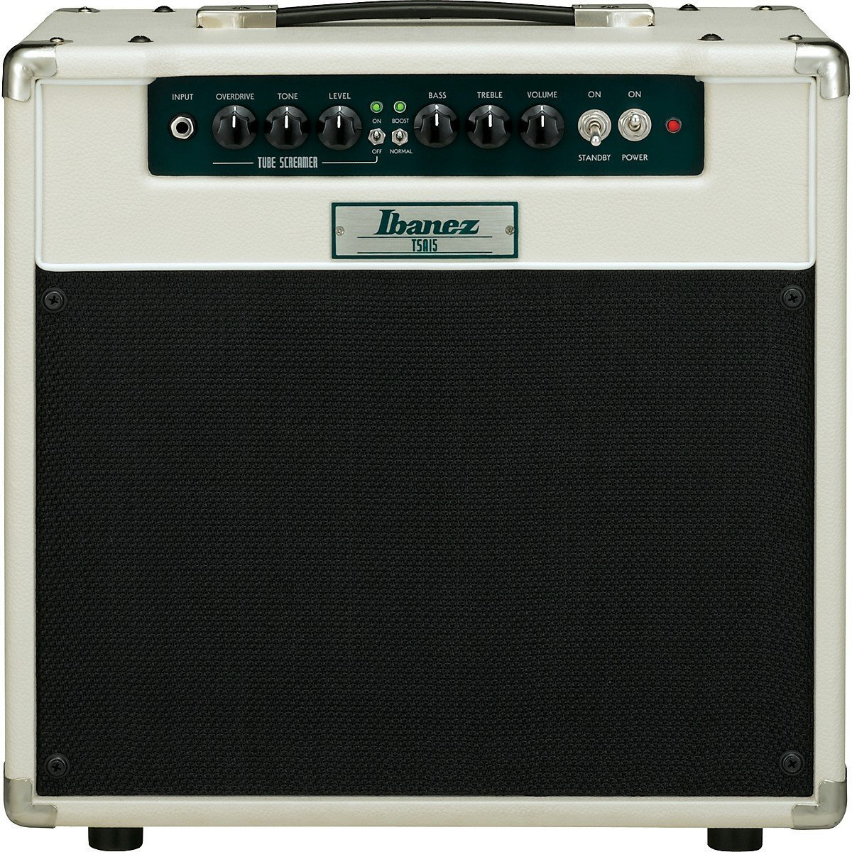 Front View of the Ibanez TSA15 All Tube Combo Amplifier Package