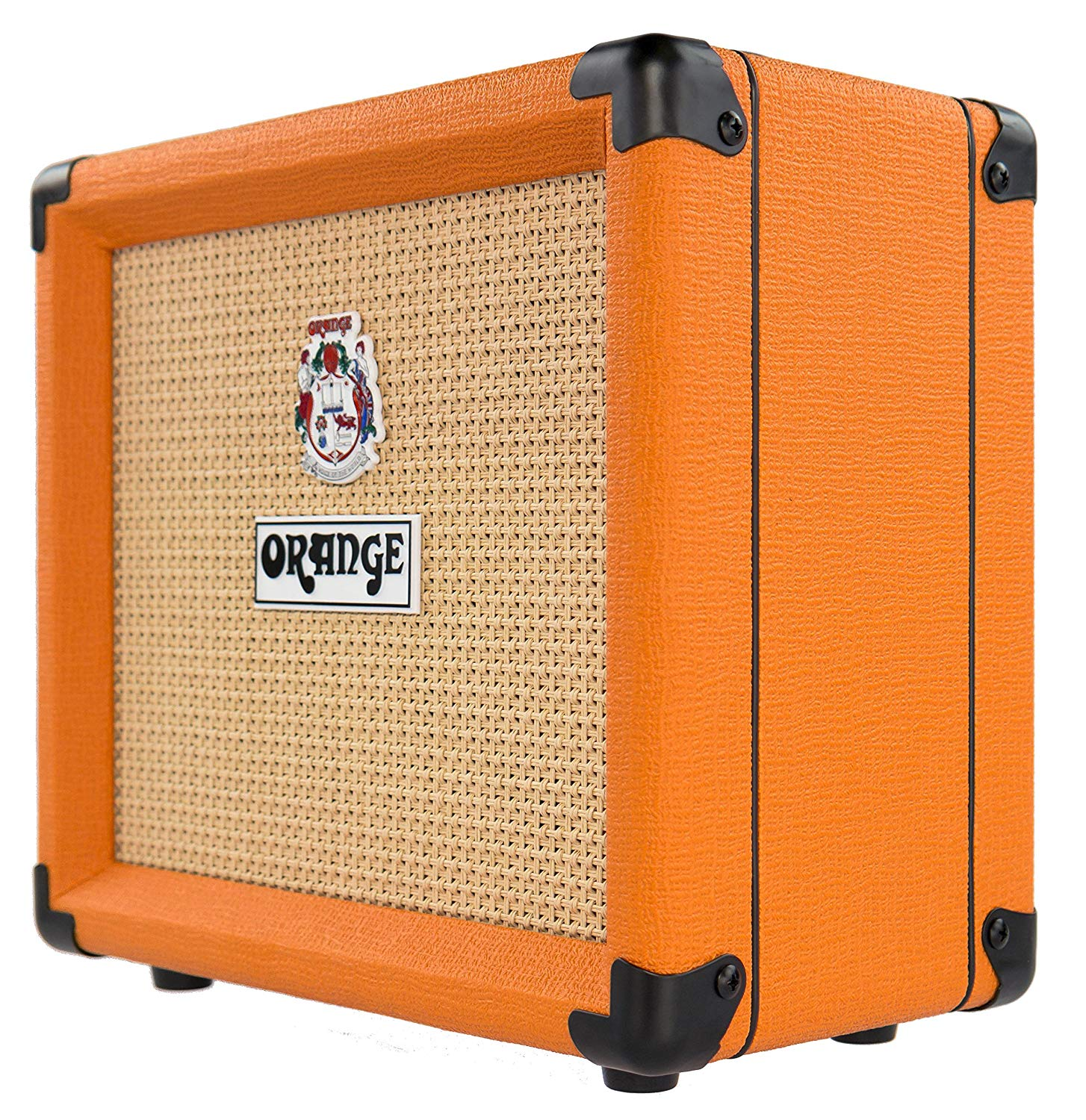 Side View of The 12 Watt ORANGE Crush Amplifier