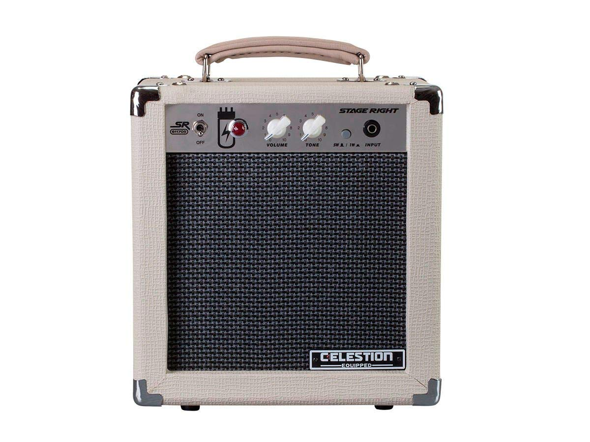 Front View of the Stage Right 5W Combo Tube Amplifier