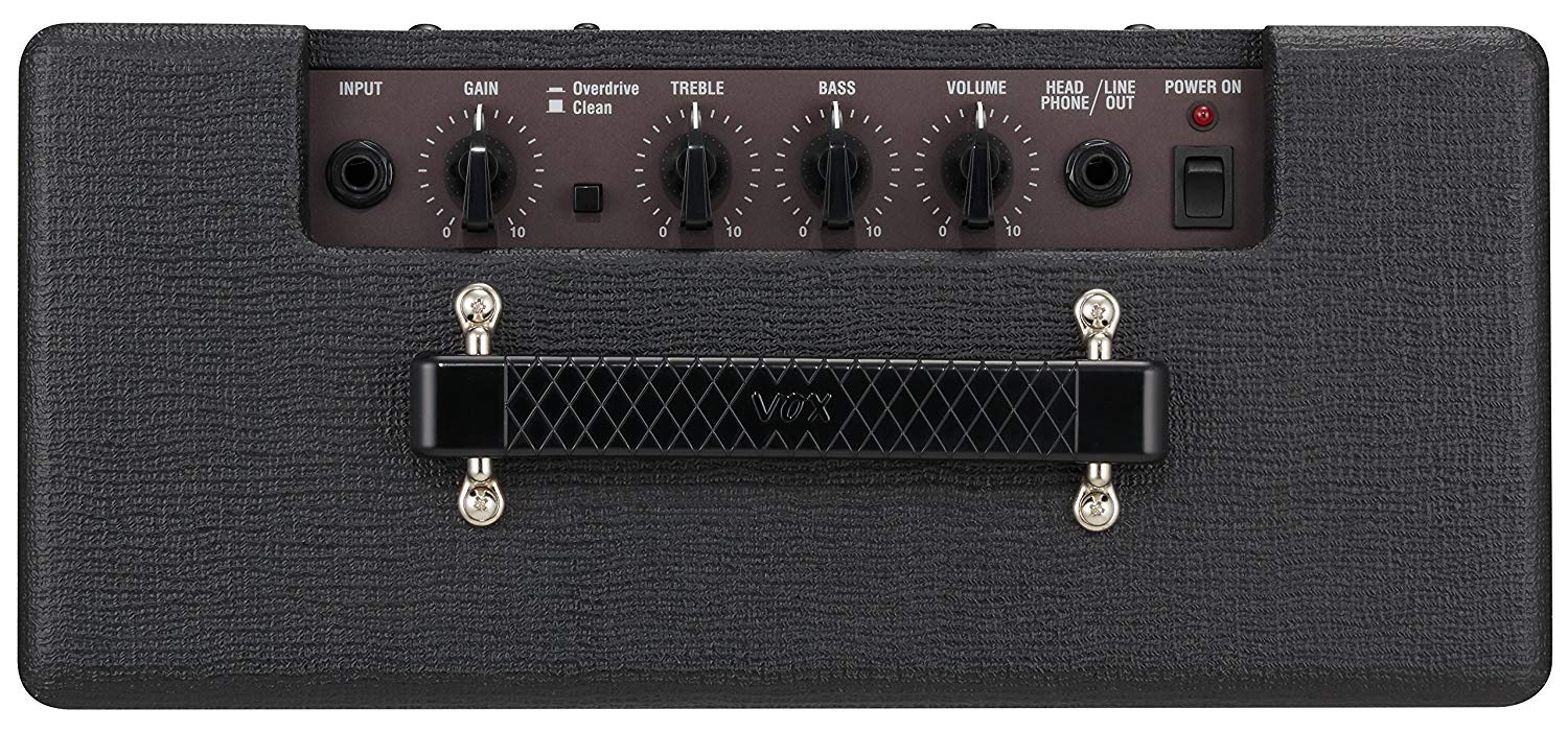 Control Knobs on the Top of the VOX Pathfinder 10W Combo Amplifier