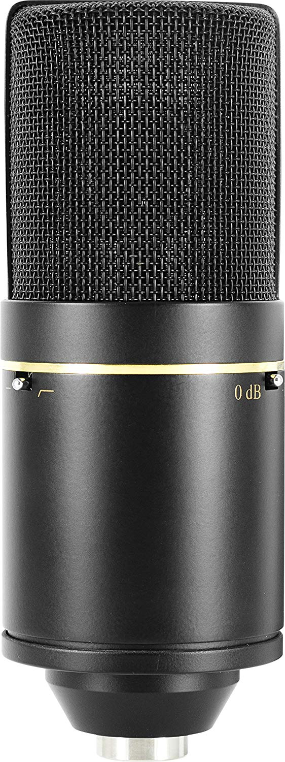Rear view of The MXL 770 Cardioid Condenser Mic