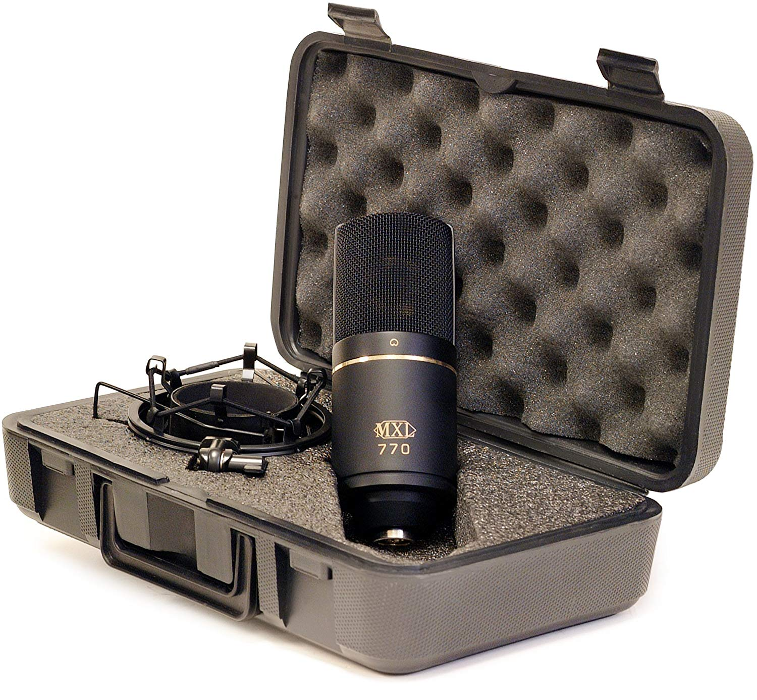 Contents of The MXL 770 Cardioid Condenser Mic Package