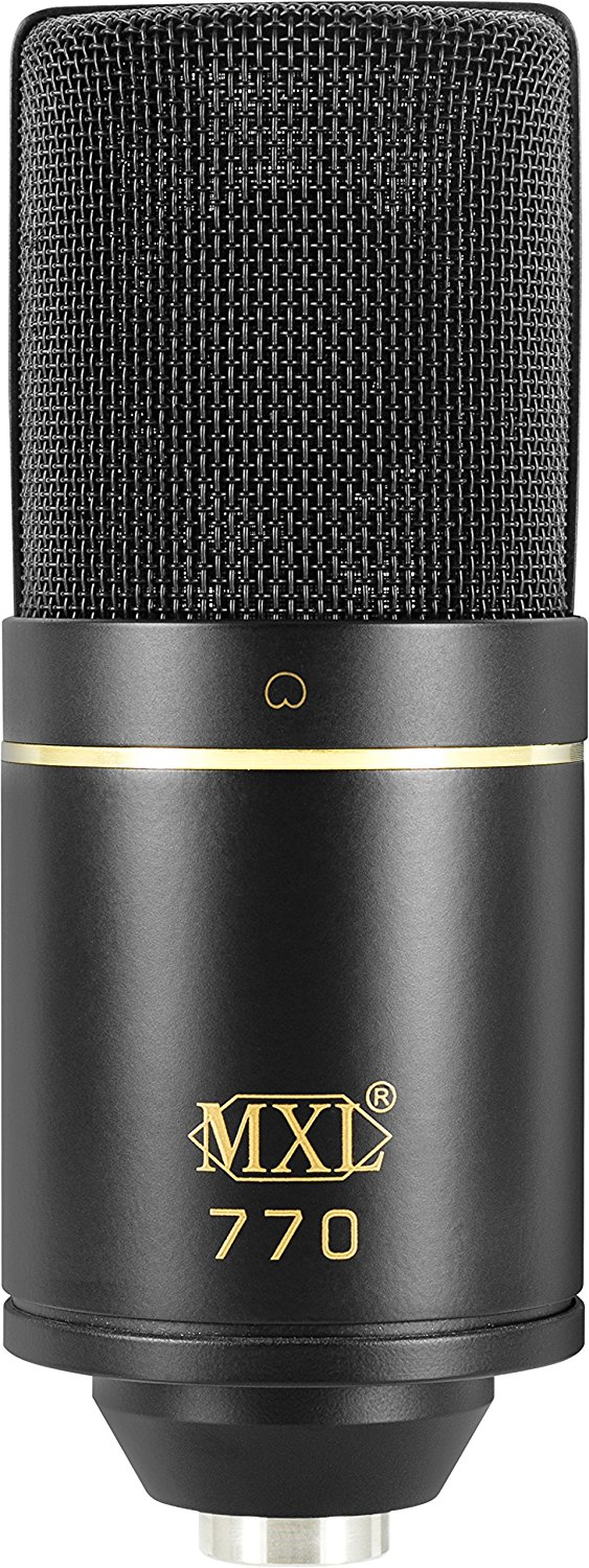 Front View of The MXL 770 Cardioid Condenser Mic