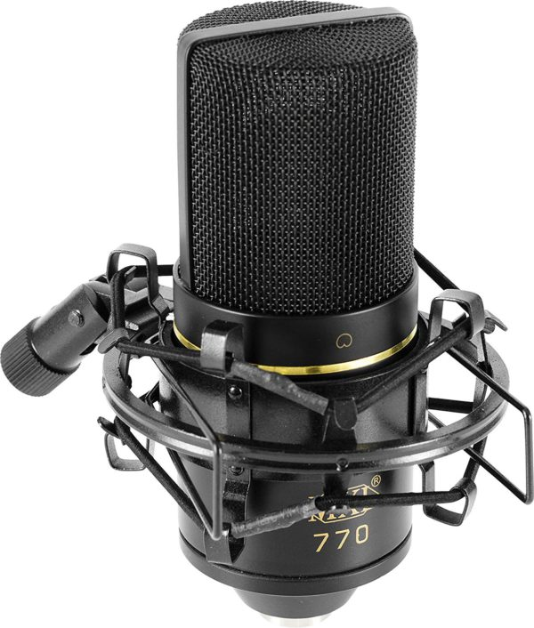 The MXL 770 Cardioid Condenser Mic on Display