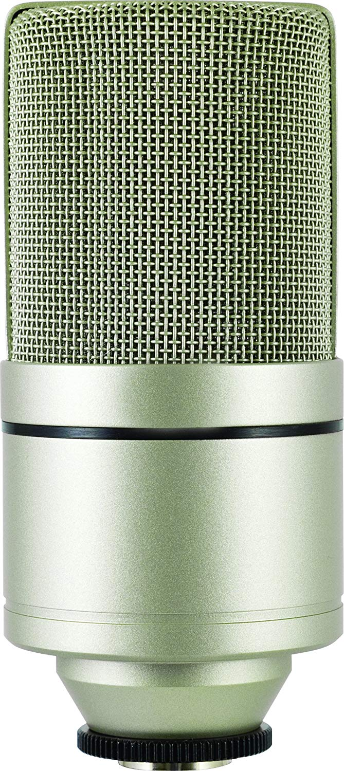 Back View of The MXL990 XLR Condenser Mic