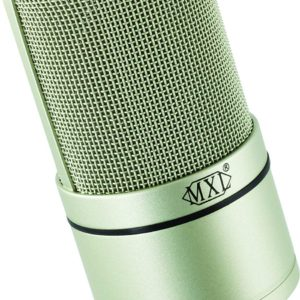 The MXL990 XLR Condenser Mic on Display