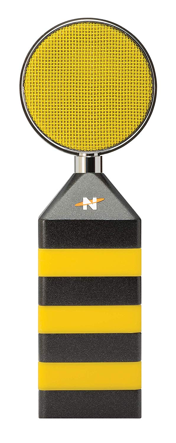 Front View of The NEAT King Bee Cardioid Solid State Condenser Mic