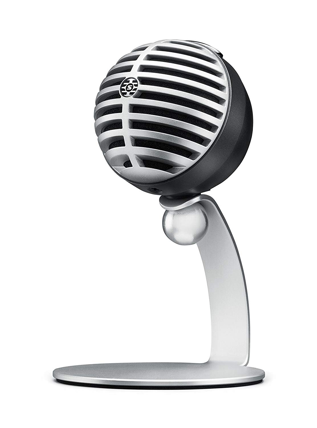The Shure MV5 Digital Condenser Mic on Display