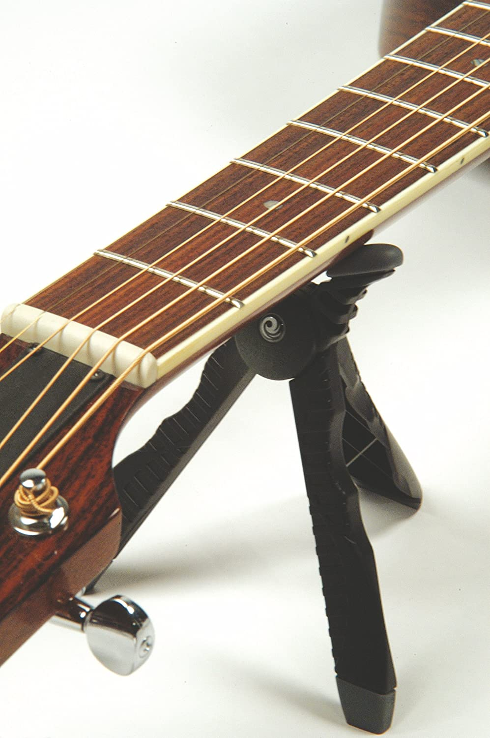 The Planet Waves Guitar Headstand In Use