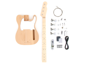 Everything that Comes With The TL Advanced Build Your Own Bass Guitar Kit